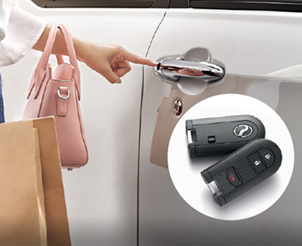 Axia Smart Entry with Smart Key