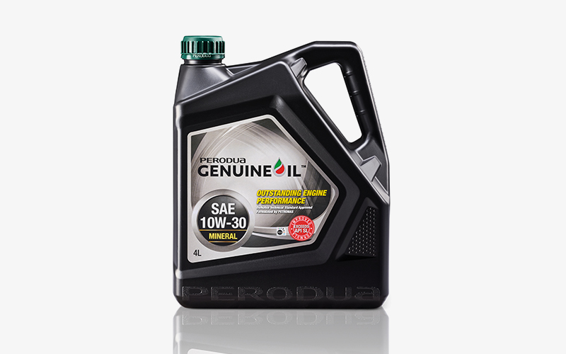 Perodua Mineral Engine Oil 10W 30 - Service Centre