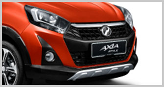 Axia Style Sporty Front Bumper