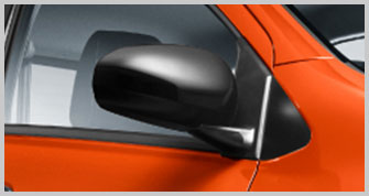 Axia Style Two Tone Side Mirror