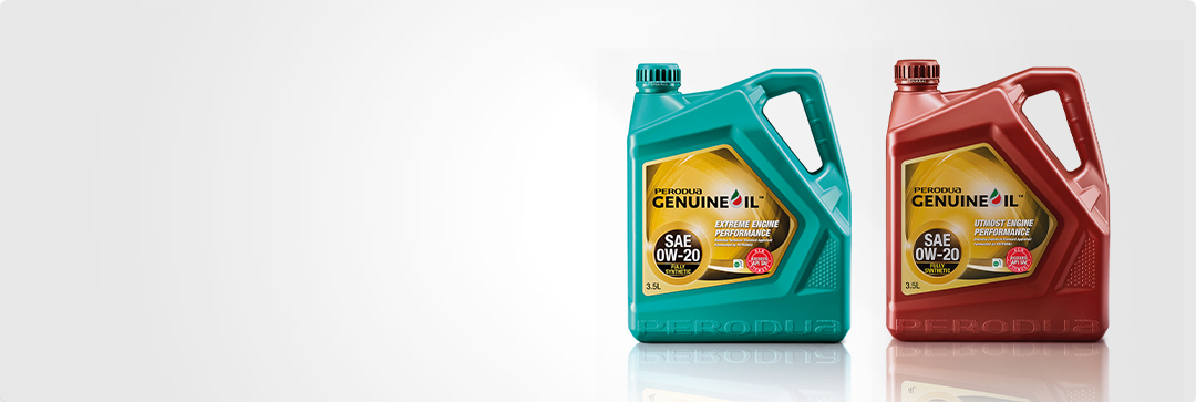 Perodua Fully Synthetic Engine Oil