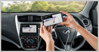 Axia Multimedia System with Navigation and 'Smart Link'