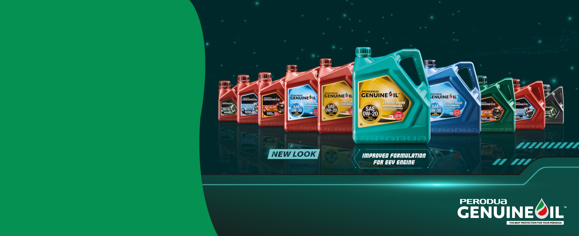 Perodua Genuine Oil & Lubricants