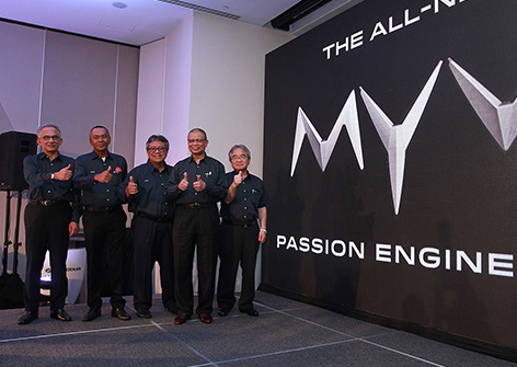 Perodua Myvi Launching with Top Management