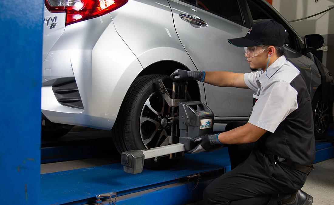 Value Added Service - Tyre Allignment & Balancing